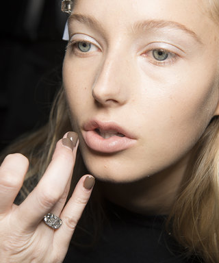 This Is The New Way To Wear Glitter Makeup, According To LFW