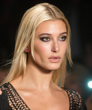 Hailey Baldwin Wore the Tiniest LBD Imaginable During London Fashion Week