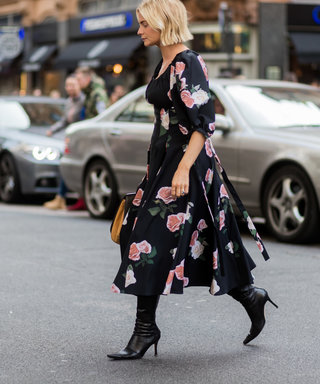 Statement Florals And Chic Monochrome: The Two Types Of Midi Dress To Buy Now