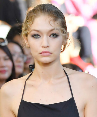 Gigi Hadid Kicks Off MFW in a One-Piece Swimsuit