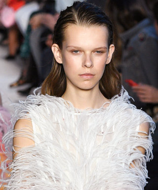 All The Feathers On The Milan Fashion Week Runways