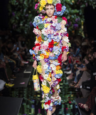 Moschino's New Collection Is Blooming Marvellous