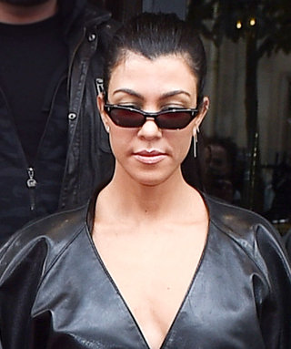 Kourtney Kardashian and BF Younes Bendjima Hold Hands as They Make Paris Their Catwalk