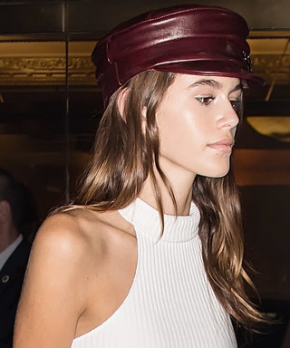 Kaia Gerber Shows Us Why We Need A Newsboy Cap This Very Second
