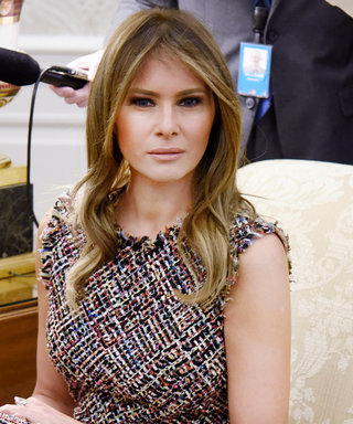 Melania Trump Wore Alexander McQueen to Greet Thailand's Prime Minister and First Lady