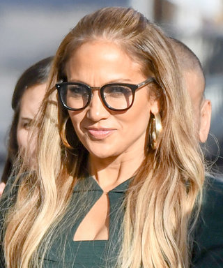 Jennifer Lopez Nails the Geek Chic Trend with $30 Sunglasses