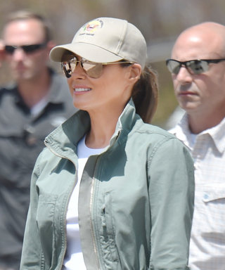Melania Trump Swaps Stilettos for Timberlands in Puerto Rico