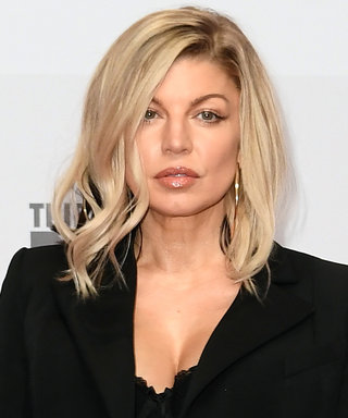 Fergie Made Lingerie + a Blazer = a Look
