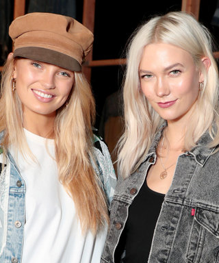 Karlie Kloss Will Make You Want to Exclusively Wear Denim Jackets This Fall
