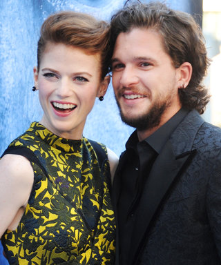 GoT's Rose Leslie Flashes Her Engagement Ring from Fiancé Kit Harington