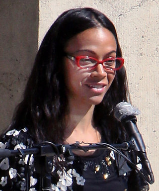 Zoe Saldana's Speech at Anton Yelchin's Statue Unveiling Will Leave You Teary-Eyed