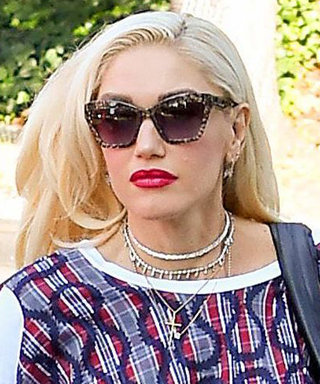 Gwen Stefani Took Her Sons to Church in the Most Unconventional Pattern-Mixing Look