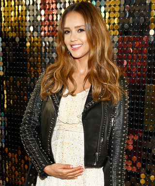 Jessica Alba Shares a Symbolically Sweet Photo of Her Growing Baby Bump