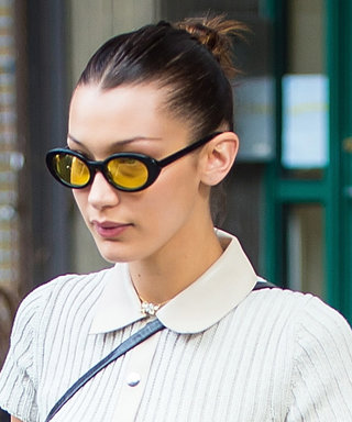 Bella Hadid's Sweater Dress Is Perfect for Warm Fall Weather