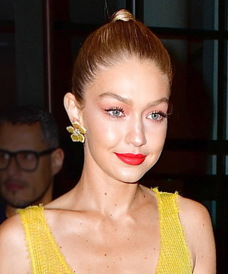 Gigi Hadid Looks Just Like Belle in This Midriff-Baring Dress