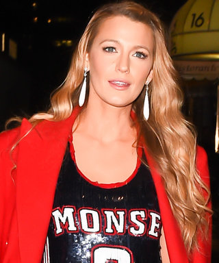 Yes, That Is Blake Lively in a Shredded Sequin Jersey and Heels