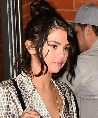 Selena Gomez Wore a Pajama Top as a Dress, Because Why Not?