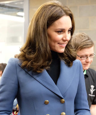 Kate Middleton's Menswear-Inspired Jacket Matched William's and Harry's