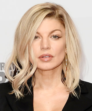 We Can't Get Over Fergie's Silver-Blonde Hair