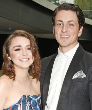 Maisie Williams's Boyfriend Blended Out Her Makeup for the Red Carpet