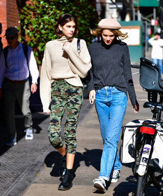 Kaia Gerber's Chic Jumper Will Go With Everything And It's From H&M