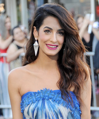 Amal Clooney Managed to Rock a Summer Dress in October
