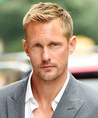 Alexander Skarsgård's Unexpected New Hairstyle Has Made the Internet Upset