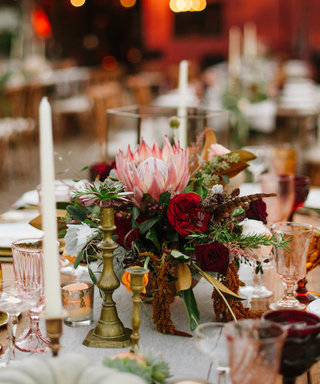 Make Burgundy Your Wedding's Elevated Splash of Color