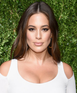 We Can't Get Over Ashley Graham in This Body-Skimming White Gown