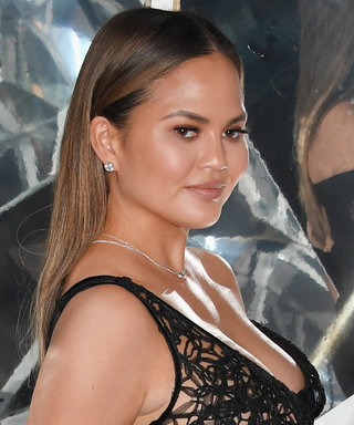 Chrissy Teigen Sizzles in See-Through LBD