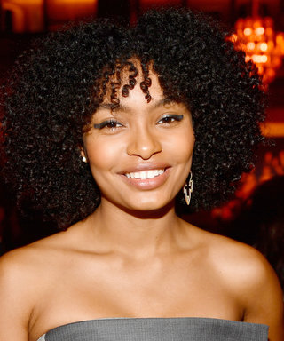 Daily Beauty Buzz: Yara Shahidi's Metallic Eyeliner