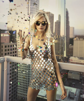 Cara Delevingne Is the Chicest Disco Party Girl in Jimmy Choo's Latest Campaign