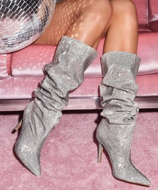 Those Glitter Saint Laurent Boots Kendall Wore? Now There's a High Street Version