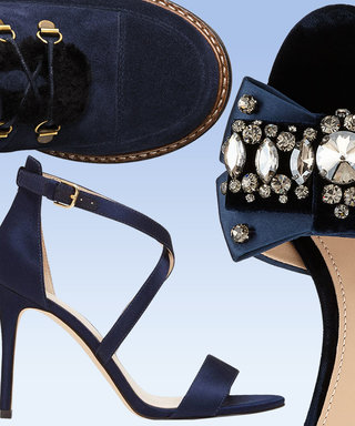 Navy Is The New Black When It Comes To Footwear