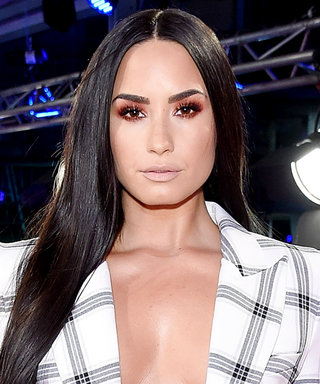 Demi Lovato's Shirtless Red-Carpet Look Is Fire