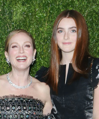 Julianne Moore and Her Mini-Me Daughter Twin in Chanel and It's Super Fab