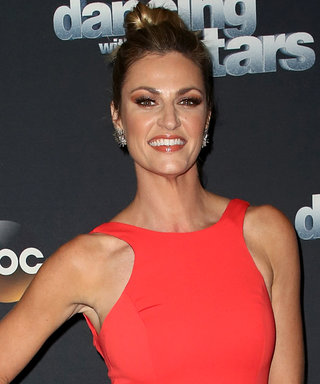 How Dancing with the Stars Host Erin Andrews Chose Her Vibrant Coral Dress