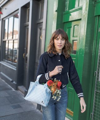 Alexa Chung's New Gingham Bag Is Stylish, Under £30 AND Supports A Good Cause