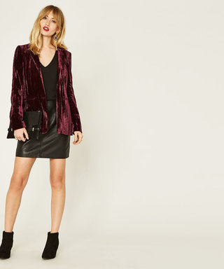 Put This Blazer On. Instantly Feel In The Party Mood