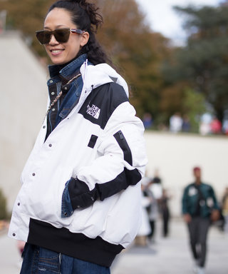 Why The Streetstyle Pack Love A North Face Puffer Jacket