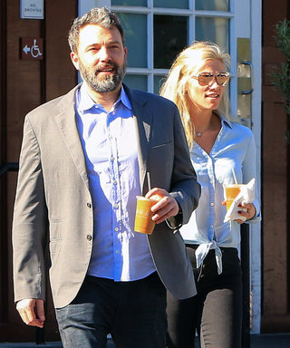 Ben Affleck and Lindsay Went Out in Coordinating Button-Ups