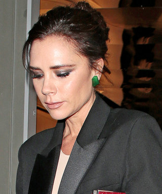 Victoria Beckham's Perfect Holiday Outfit Is Probably Already In Your Closet
