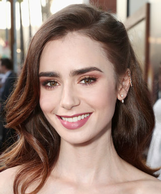 You've Never Seen Lily Collins's Hair Like This Before
