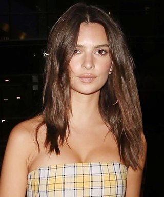 Emily Ratajkowski Is a Total '60s Bombshell at L.A. Lakers Game
