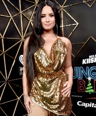 Demi Lovato Shows Us the Genuis Way to Re-wear Your Party Dress