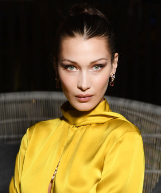 Bella Hadid Poses in a Sheer Tube Top After Being Accused of Getting Plastic Surgery