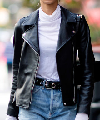This Leather Jacket Makes Everything in My Closet Look Cooler
