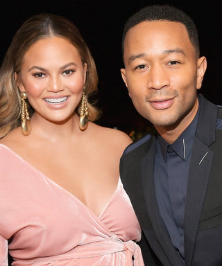 Pregnant Chrissy Teigen Wore a Flowy Pink Gown and a Tight Black Dress on the Same Night