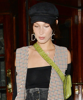 Bella Hadid Just Wore Every Single Trend From 2017 in One Outfit