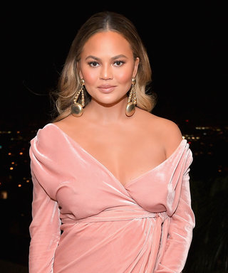 Chrissy Teigen Bares Her Growing Baby Bump on Snapchat